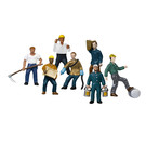 Lionel 1957220 Work People Figures, 6-Pack