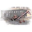 Walthers 933-3520 Old Time Coal Conveyors, 3pk.