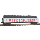 Micro-Trains 10500711 50' Steel Side 14-Panel Gondola Koppers Coke #121, N Scale
