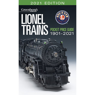 Kalmbach Books 108721 Lionel Pocket Guide 2021 Edition