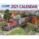 Kalmbach Books 2021 Model Railroader Calendar