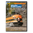 Kalmbach Books 15361 Model Railroader: 10-Year Archive 2010-2019 DVD-ROM