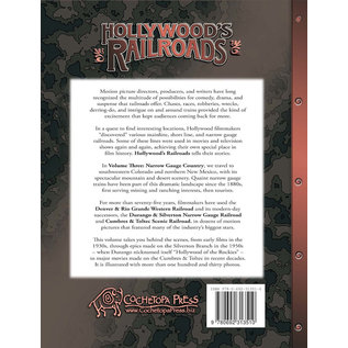 Cochetopa Press HRV-3 Hollywood's Railroads, Volume 3