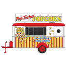 Oxford 87TR016 Popcorn Trailer, HO Scale