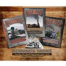 Cochetopa Press Hollywood's Railroads by Larry Jensen Volume 1, 2 & 3