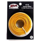 Atlas O 318 Atlas 50' yellow wire, stranded, #20 ga.