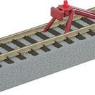 Lionel 49866 AF FasTrack Straight Track with Lighted Bumper, AF FasTrack