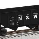 Lionel 6-82411 N&W 2-Bay Hopper Car