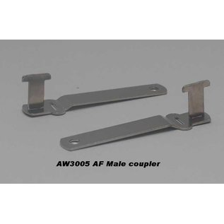 """Model Engineering Works AW3005 Male Coupler, 3 1/4"""", 1 Pc."""