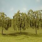 """Bachmann 32014 Willow Trees 3""""-3.5"""", 3Pcs."""