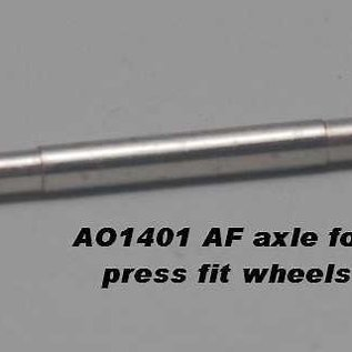 Model Engineering Works AO-1401 AF O Splined Trailing Truck Axle