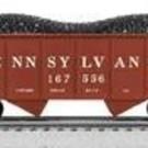 Lionel 6-81858 PRR Scale GLA 50-ton Twin Hopper 3-Pack