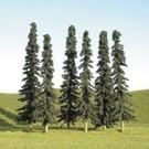 """Bachmann 32155 Conifer Bulk Trees 2""""-4"""", 36 pcs"""