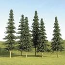 "Bachmann 32157 Spruce Bulk Trees 2""-4"", 36 pcs"