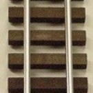 "Gargraves 401 37"" S-Gauge Straight w/Tinplated Rails, Flexible"