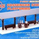 Atlas O 6902 Passenger Station Platform Add-On