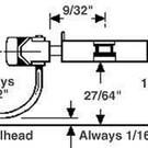 Kadee 802 S-Scale Coupler with gear box - Black