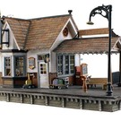 Woodland Scenics BR5852 The Depot, Built & Ready, O Scale
