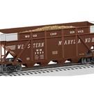 Lionel 6-82344 Western Maryland Wood Chip Hopper #2945
