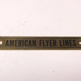 Model Engineering Works AW6005 AF Brass Plate