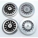 Model Engineering Works BAL-4B Steam Wheel Set for 384/390, 4:36, Black Spoke