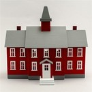 Model Power 6376 Little Red School House Built-up