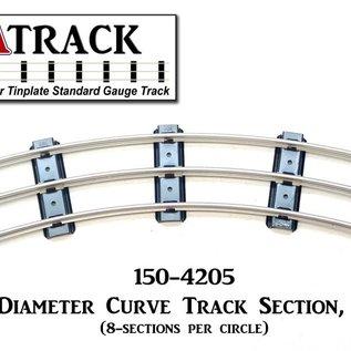 "USA Track LLC 150-4205 42"" Diameter Curve Track, 5-ties, USA"