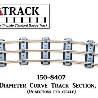"USA Track LLC 150-8407 84"" Diameter Curve Track, 7-ties, USA"