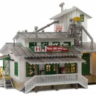 Woodland Scenics BR5059 H&H Feed Mill - HO Scale