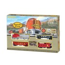 Bachmann 00647 Santa Fe Flyer Train Set, Bachmann HO