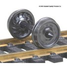 "Kadee #521 36"" Passenger Wheel Sets Ribbed Back, Kadee HO"