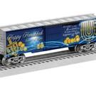 Lionel 6-83801 Happy Hanukkah Boxcar