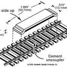Kadee #322 Track Magnetic Uncoupler Code83, Kadee HO