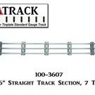 """USA Track LLC 100-3607 36"""" Straight Track Section, 7-ties, USA"""