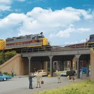 Walthers 4561 Urban Steel Overpass Kit, HO Scale