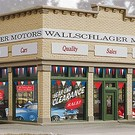 Walthers 931-805 Assembled Wallschlager Motors Building