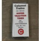 Calumet No.515 Super Traction Tires, Tyco HO, 20Pcs.