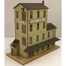 Altoona Model Works HO-003 Picklers Warehouse Kit, HO Scale