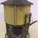 Altoona Model Works O-001 Standard Water Tower 24' Dia. 50K gallon, O Scale