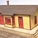 Altoona Model Works O-005 Branch Line Station Kit, O Scale