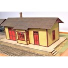 Altoona Model Works O-005 Branch Line Station Kit, O Scale