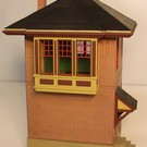 Altoona Model Works O-018 Pennsy Brick Signal Tower Kit, O Scale