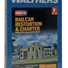 Walthers 933-3825 Railcar Restoration & Charter Kit, N Scale