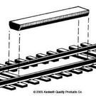 Kadee #312 Track Magnetic Non-Delayed Uncoupler, Kadee HO