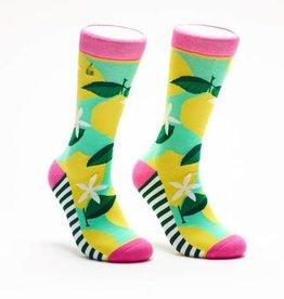 Woven Pear Pink Lemonade Socks