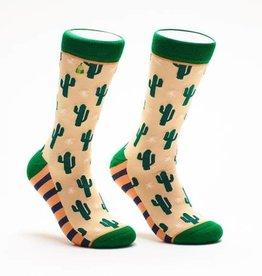 Woven Pear Cacti Socks