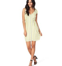 Cupcakes and Cashmere Marguerite Yarn Dyed Stripe Dress