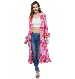 America & Beyond Daffodil Lounge Kimono