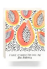 Antiquaria Big Papaya Card