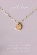 Dear Heart Designs Great Love - 14kt Gold Fill Necklace